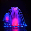Garden Round Water Fountain Pool Fountain Color Changing Water Fountain
