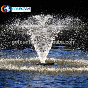 Floating Lake Golf Course Pond Water Fountain