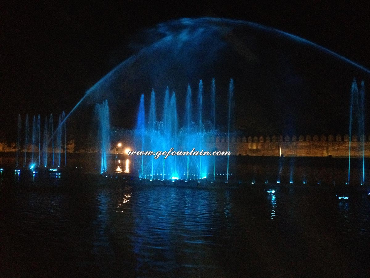 Myanmar Floating Fountain Project_8 Night Show