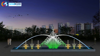 10*2m Pool Decoration Dancing Water Fountain