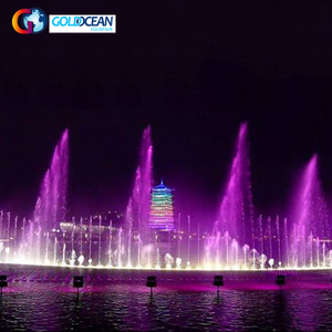 LED Colorful Outdoor Music Dancing Water Fountain Design