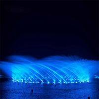 Factory supply customized lake floating music fountain