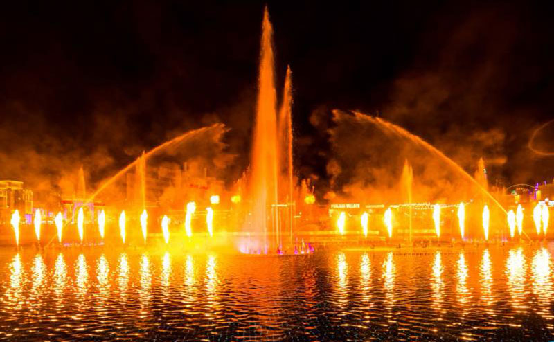 Dubai-Global-Village-150x50M-Multimedia-Music-Dancing-Fountain