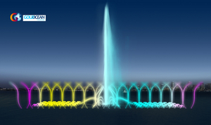 China Supply Music Dancing Fountain