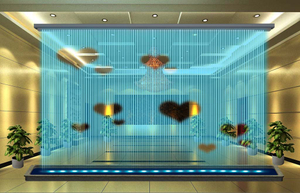 Indoor Hang Type 7*5m Digital Water Curtain