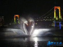 Lake Fountain Design Laser Show Water Screen Movie