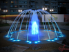 Round Shape Outdoor Interactive Floor Fountain