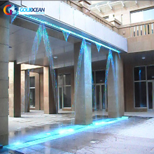 Hang Type Customized Size Digital Water Curtain