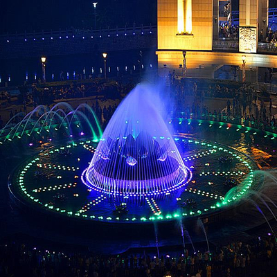 Water Pool Musical Dancing Water Fountain Show
