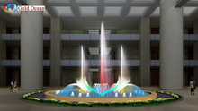 5*10m Oval Shape Pool Decoration Dancing Fountain