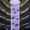 Indoor Hange Type Features Digital Water Fountain Curtain Artificial Fountain
