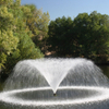 Golf fountain floating pond water fountain