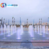Granite Outdoor Colorful Program Control Water Fountains Dancing Dry Fountain