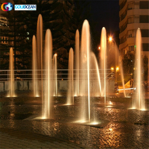 Garden Water Fountains Musical Dancing Lake Floor Music Water Dance Fountain