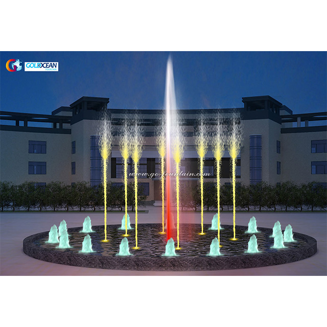 Decorative Outdoor Dancing Music Water Fountain Show