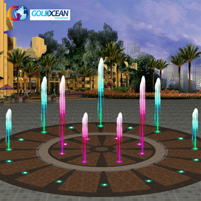 FREE DESIGN Dia.10M Music Dancing Dry Fountain for Children Playing